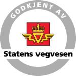 Godkjent av Statens vegvesen