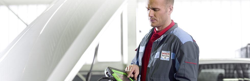 Bosch Car Service inspeksjon og vedlikehold - vi gjør alt for din bil
