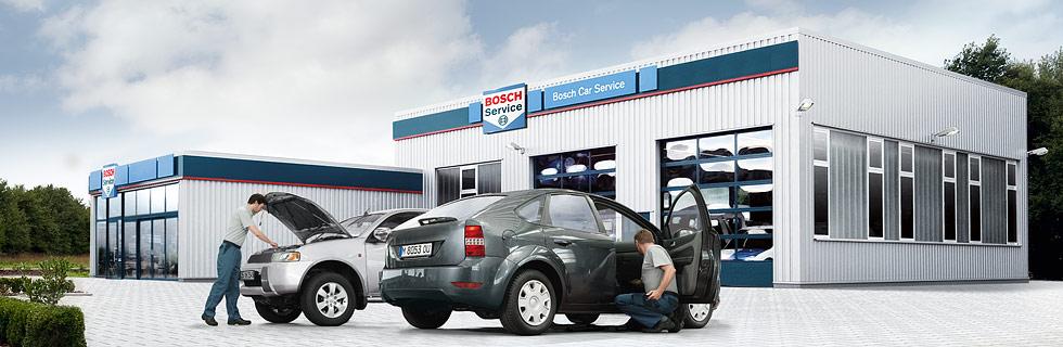 Bosch Car Service bilverksted - gjør det lettere for deg å eie bil